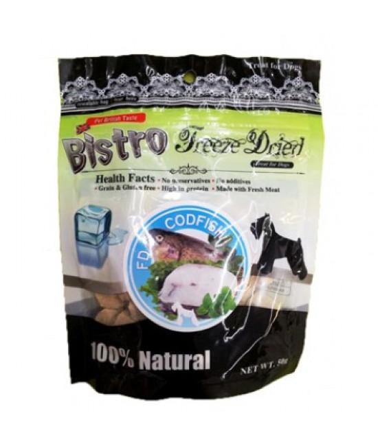 英國Bistro (狗) - 脫水鱈魚小食 50G