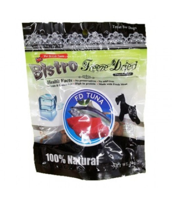 英國Bistro (狗) - 脫水金槍魚小食 50G