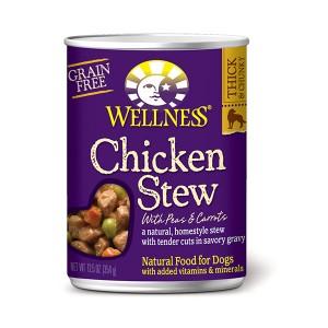 Wellness Stew 鮮汁燴雞狗罐頭 - 12.5oz (12)