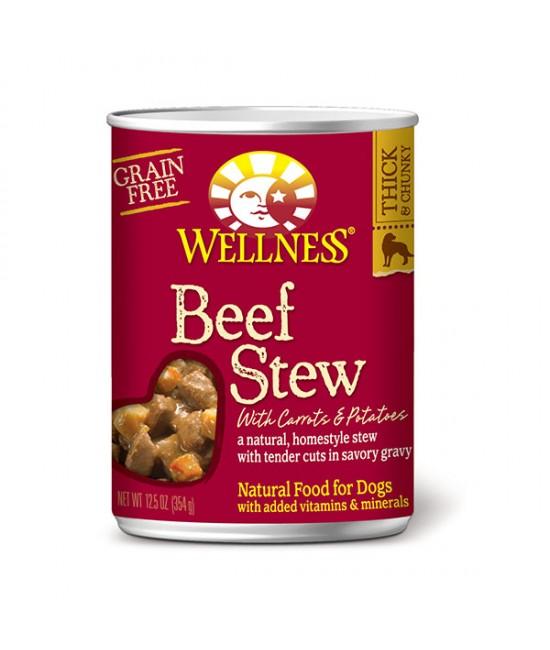 Wellness Stew 原汁牛柳狗罐頭 - 12.5oz (12)