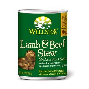 Wellness Stew 羊柳燴牛腩蘋果狗罐頭 - 12.5oz (12)