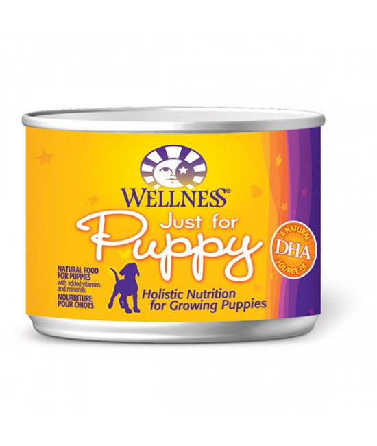 Wellness 幼犬專用狗罐頭 - 6oz