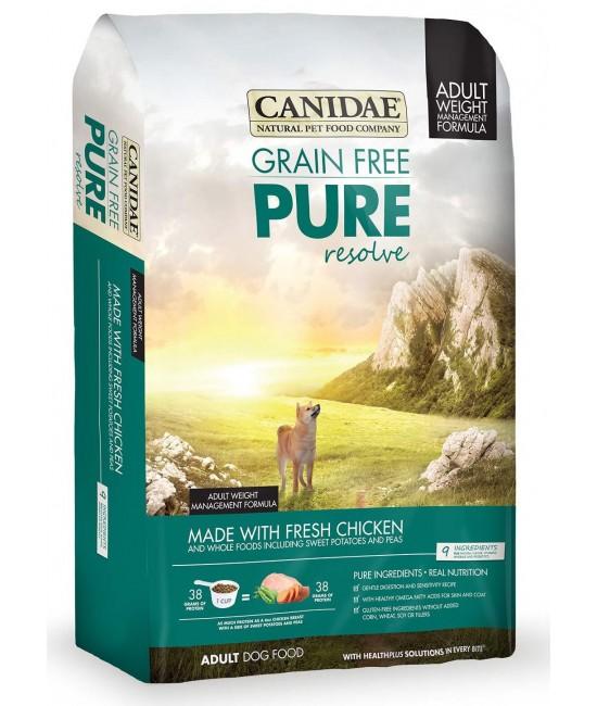 CANIDAE 卡比 無穀物體重控制配方狗糧 - 雞肉、火雞肉