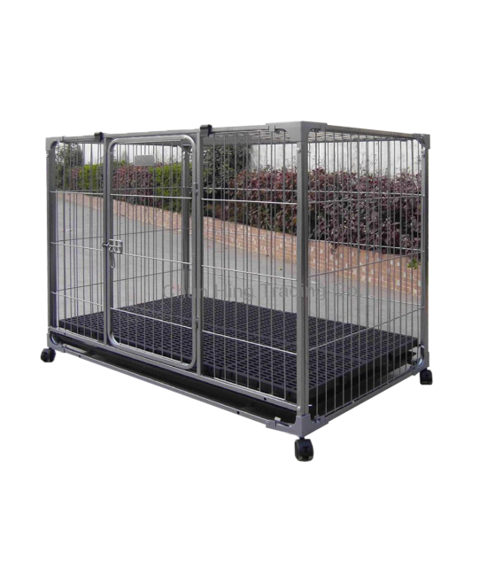 4 Feet Extra Wide Baking Finish Dog Cage - 126*95*114cm, Dog Products, 振興牌