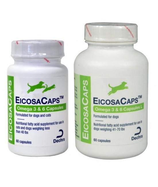 Dechra EicosaCaps 魚油營養補充品 - 60粒