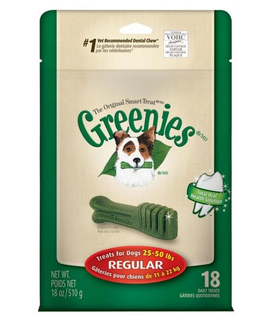 GREENIES Dental Chew 標準潔齒骨(袋裝) - 18oz(18支)