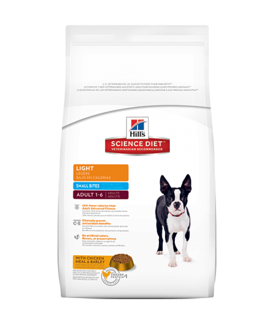 Hill's Science Diet Adult Light Dog Food (Small Bites), Veterinary Products, Hill's 希爾思