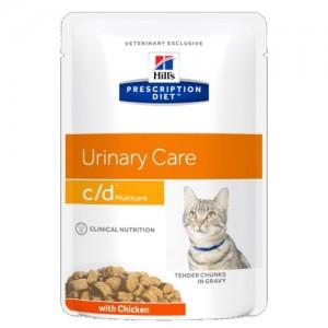 Hill's Prescription Diet c/d Multicare 泌尿系統護理配方貓濕糧 (雞肉)