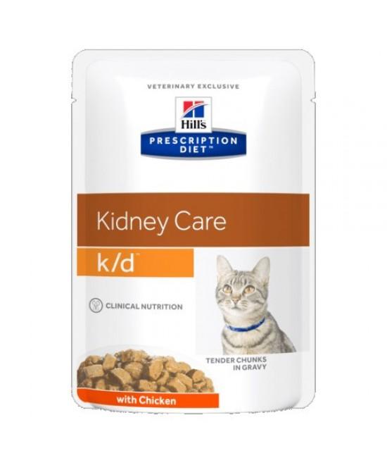 Hill's Prescription Diet k/d Kidney Care 腎臟護理配方貓濕糧 (雞肉), 獸醫產品, Hill's 希爾思