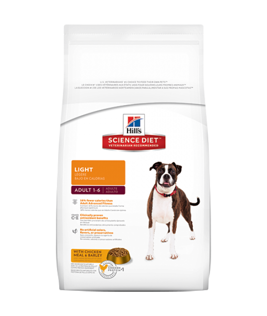 Hill's Science Diet Adult Light Dog Food (Original), Veterinary Products, Hill's 希爾思