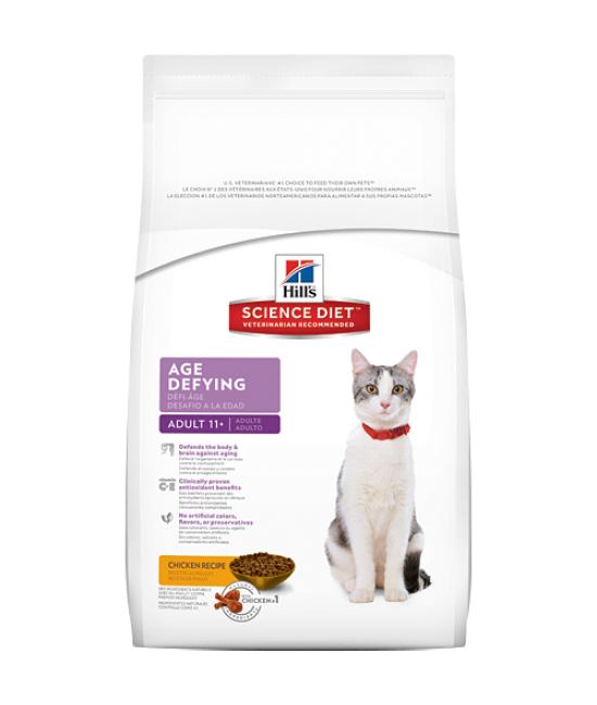 Hill's Science Diet Adult 11+ Age Defying Cat Food, Veterinary Products, Hill's 希爾思