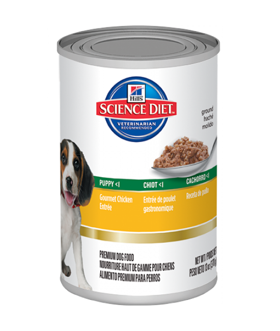 Hill's Science Diet Chicken & Barley Entrée Puppy Canned Food - 13oz, Veterinary Products, Hill's 希爾思