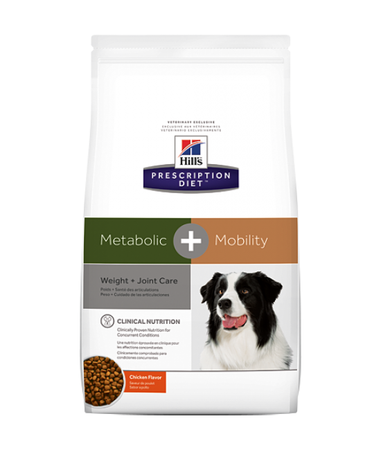 Hill's Prescription Diet Metabolic Plus Weight + Joint Care Dog Dry Food - 9.5lb
