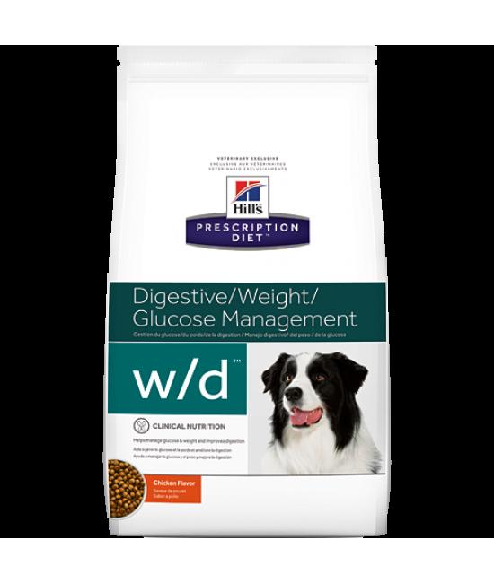 Hill's Prescription Diet w/d 消化系統/體重/葡萄糖控制配方狗糧, 獸醫產品, Hill's 希爾思