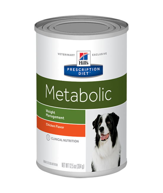 Hill's Prescription Diet Metabolic Canine Weight Management Canned Food (Chicken Flavor) - 13oz