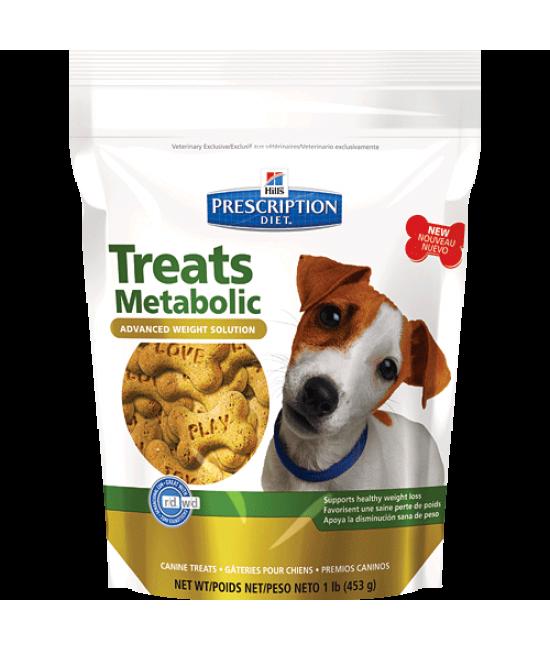 Hill's Prescription Diet Metabolic Treats 新陳代謝配方狗小食 - 12oz, 狗狗產品, Hill's 希爾思