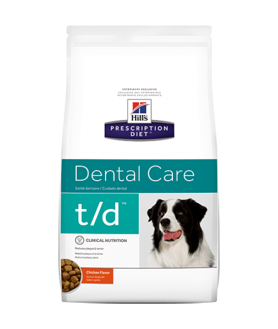 Hill's Prescription Diet t/d Canine Dental Care (Original Bites) - 5lb, Veterinary Products, Hill's 希爾思