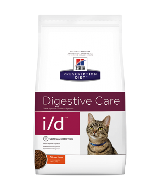 Hill's Prescription Diet i/d 消化系統護理配方貓糧 - 4lb, 獸醫產品, Hill's 希爾思