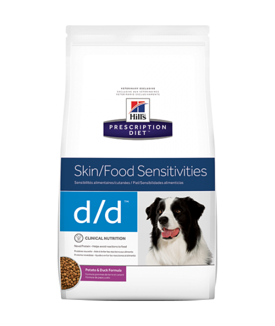 Hill's Prescription Diet d/d Canine Skin/Food Sensitivities (Potato & Duck) - 8lb, Veterinary Products, Hill's 希爾思