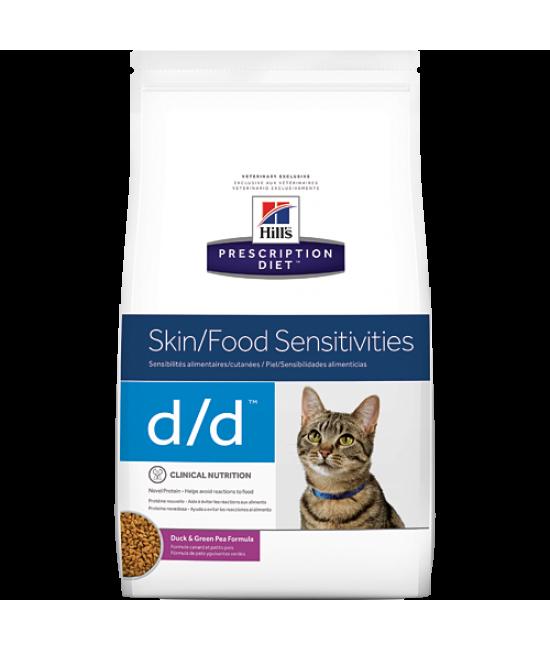 Hill's Prescription Diet d/d 皮膚與食物敏感配方貓糧(多種口味), 獸醫產品, Hill's 希爾思