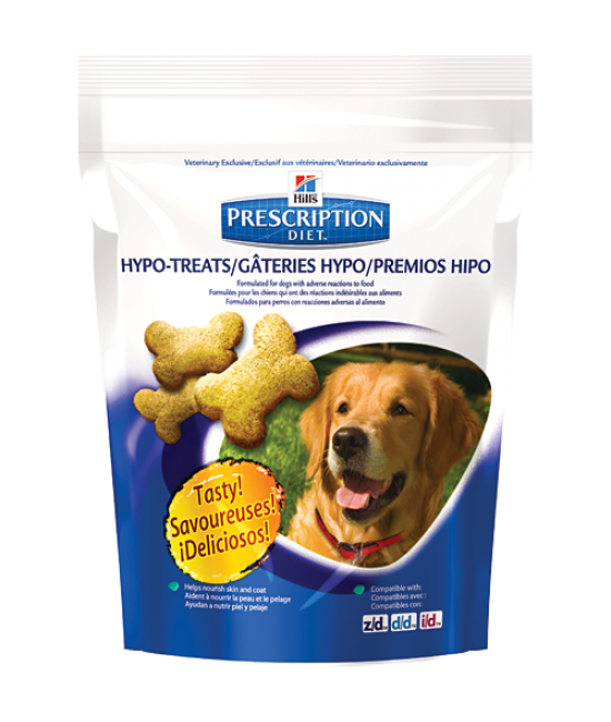 Hill's Prescription Diet Hypo-Treats 皮膚與食物敏感配方狗小食 - 12oz