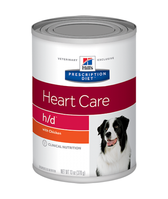 Hill's Prescription Diet h/d Canine Heart Care Canned Food - 13oz