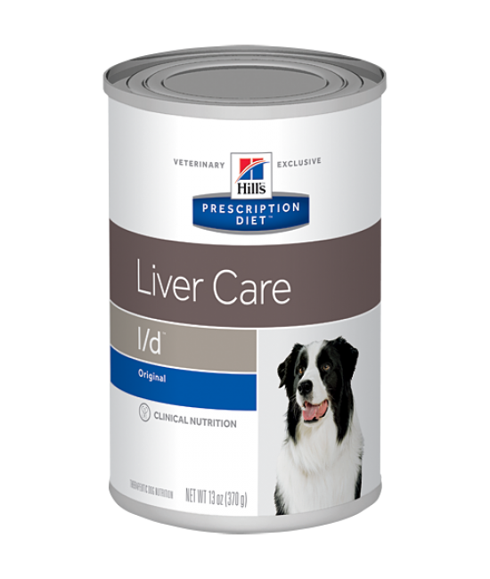 Hill's Prescription Diet l/d Canine Liver Care Canned Food - 13oz
