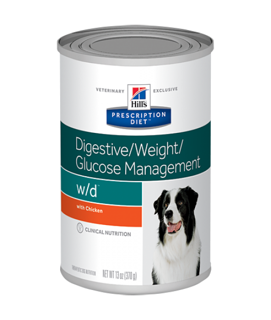 Hill's Prescription Diet w/d Canine Digestive / Weight / Glucose Management Canned Food - 13oz