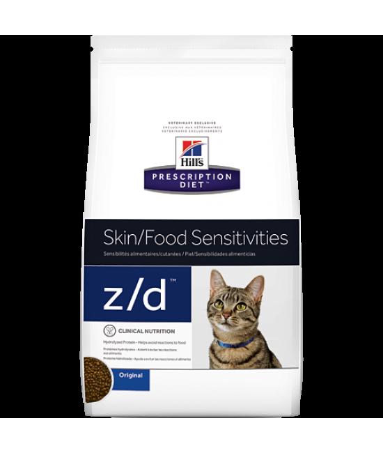 Hill's Prescription Diet z/d 皮膚與食物敏感配方貓糧 - 4lb