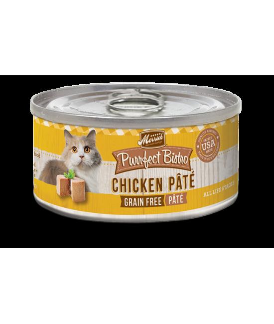 Merrick 無穀物雞肉肉醬配方貓罐頭 - 1箱24罐