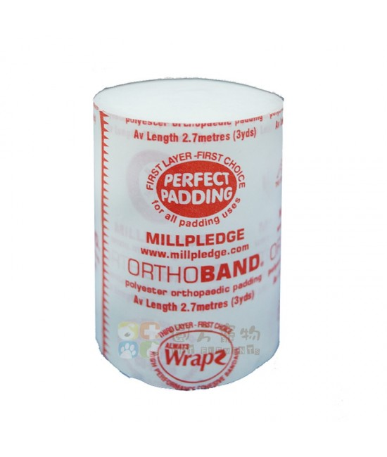 Millpledge Wrapz Orthoband Soft Band 繃帶 - 7.5cm 闊