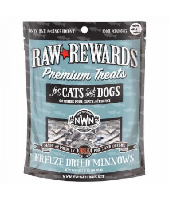 Northwest Naturals Freeze Dried 凍乾小食系列 (犬貓合用) - 小魚乾 1oz / 28.4g ,健康小食,NWN