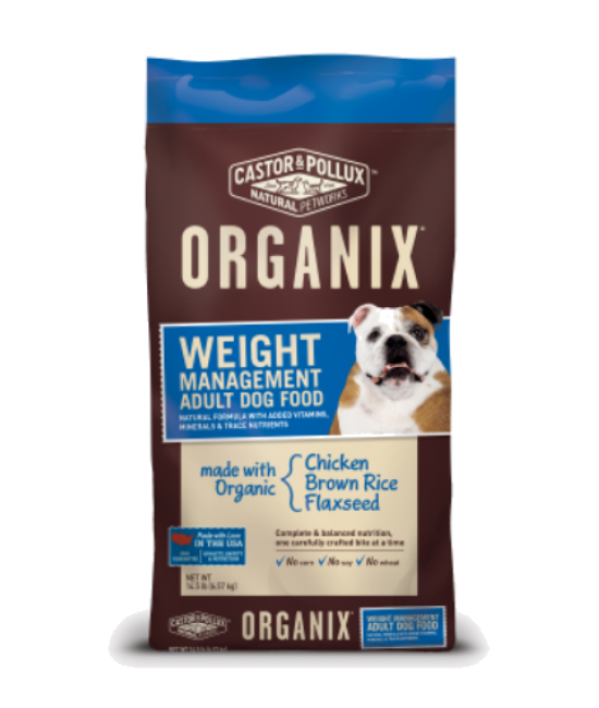 Organix 有機體重控制配方狗糧