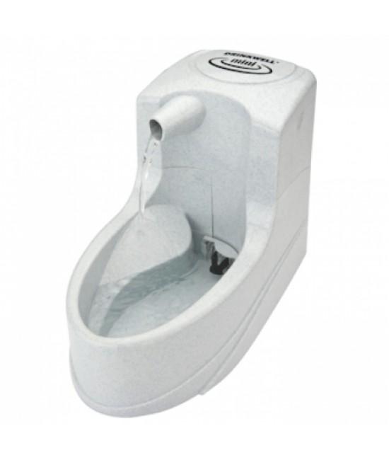 Drinkwell 小型犬、貓用迷你電動噴泉式飲水器 - 1.2公升