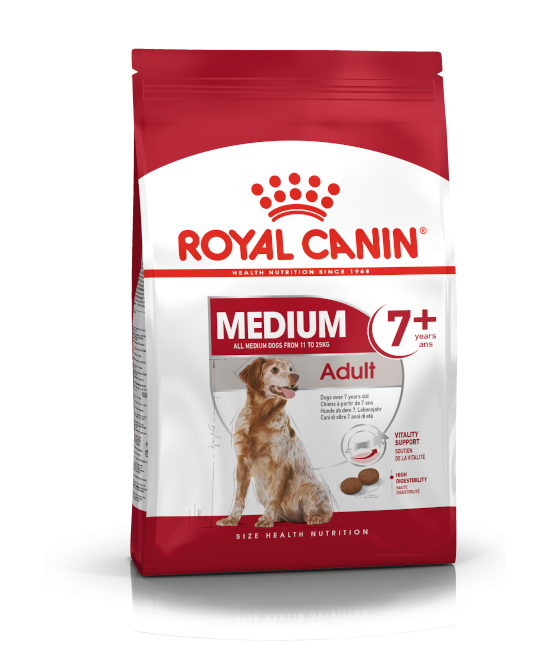 Royal Canin SHN 中型熟齡犬 7+ Medium Adult 7+ 狗乾糧