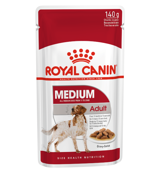 Royal Canin SHN 中型成犬 MEDIUM Adult (Gravy) 狗濕糧