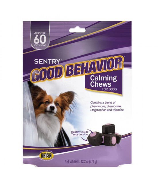Sentry Good Behavior 狗隻安靜軟粒小食 - 60粒