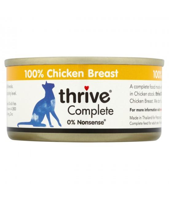 Thrive 整全膳食 100%幼貓罐頭(雞胸肉) - 75g