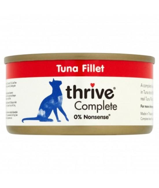 Thrive 整全膳食 100%吞拿魚柳貓罐頭 - 75g