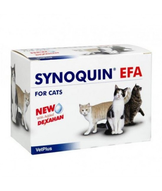 VetPlus Synoquin EFA Joint Supplement for Cats - 90 Sprinkle Capsules