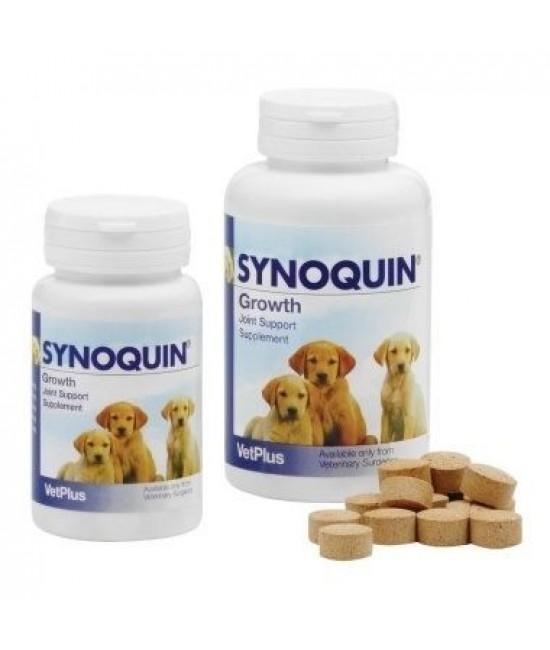 VetPlus Synoquin Growth 小型犬/大型幼犬專用關節補充丸