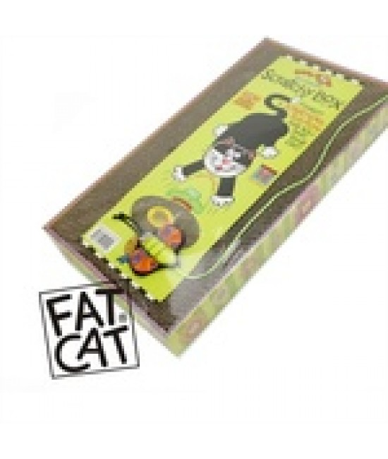 Fat Cat 瓦楞紙貓抓盒 - 大