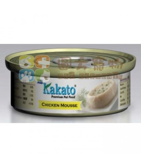 Kakato 卡格 雞肉慕絲 - 40g
