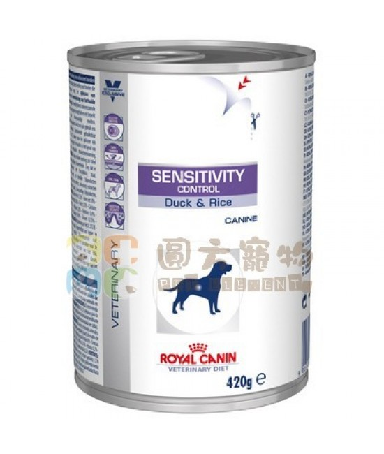 Royal Canin 法國皇家獸醫處方Sensitivity Control Duck (SC21) 狗罐頭 420g