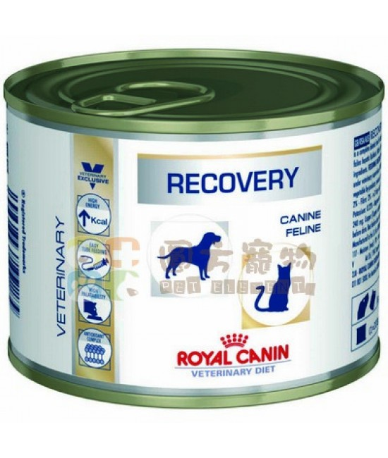 Royal Canin 法國皇家獸醫處方 貓狗共用康復配方罐頭 - 195g, 獸醫產品, Royal Canin 法國皇家