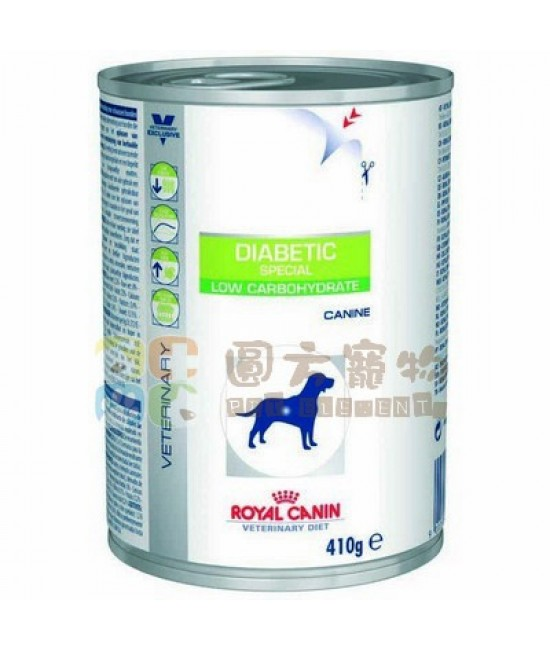 Royal Canin 法國皇家獸醫處方Diabetic Special 狗罐頭 410g