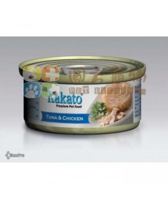 Kakato 卡格 吞拿魚、雞罐頭 - 170g