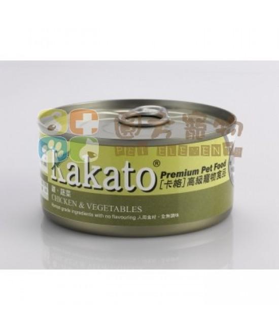 Kakato 卡格 雞、蔬菜罐頭 - 170g