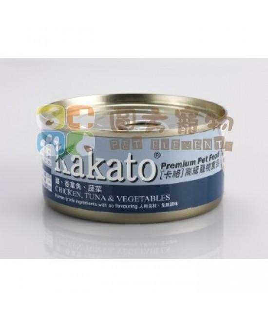 Kakato 卡格 吞拿魚、蔬菜罐頭 - 170g