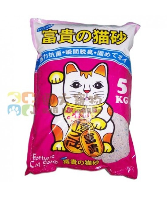 日本富貴貓砂 薄荷香抗菌碎砂 - 5kg